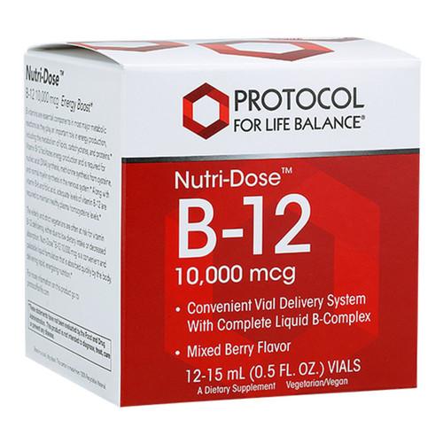 B-12 10,000mcg 12 Vials