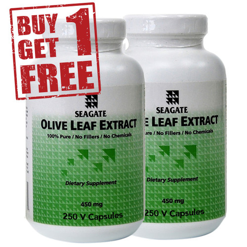 Olive Leaf Extract 450 mg 250 vcaps