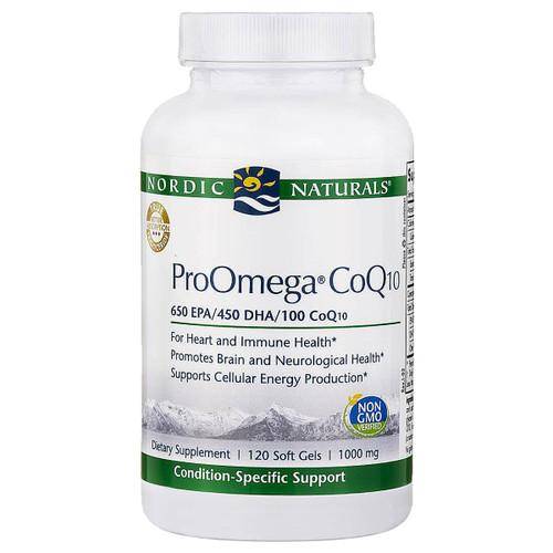 ProOmega® CoQ10 120 gels
