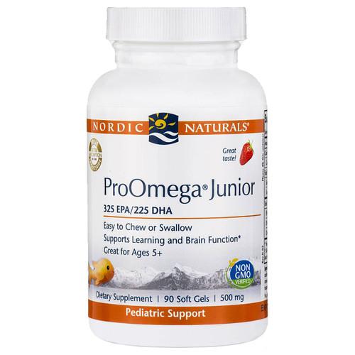 ProOmega® Junior Strawberry 500mg 90 gels