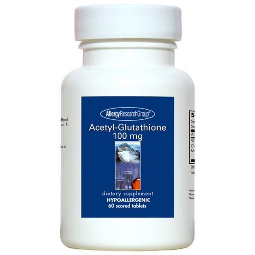 Acetyl-Glutathione 100 mg 60 scored tabs