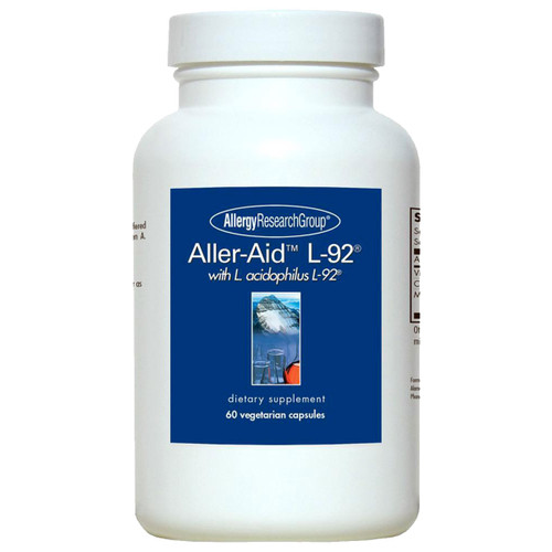 Aller-Aid™ L-92® with L. acidophilus L-92® 60 vcaps