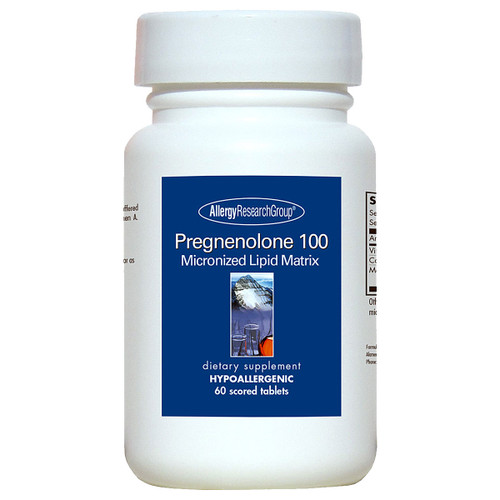 Pregnenolone 100 Micronized Lipid Matrix 60 Scored Tablets