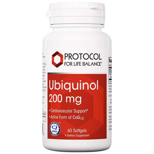 Ubiquinol 200 mg 60 gels