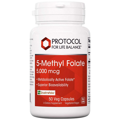 5 Methyl Folate 5,000 mcg 50 vcaps
