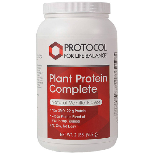 Plant Protein Complete (Natural Vanilla Flavor) 2 lbs (907 g)