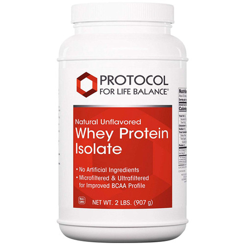 Whey Protein Isolate Natural Unflavored 2 lbs (907 g)