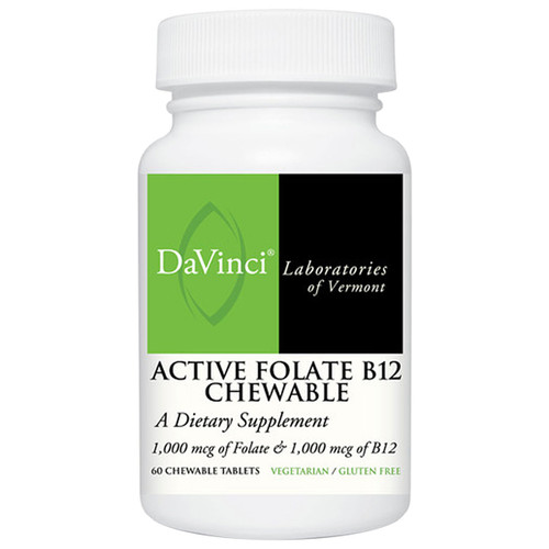 Active Folate B12 Chewable 60 chew tabs