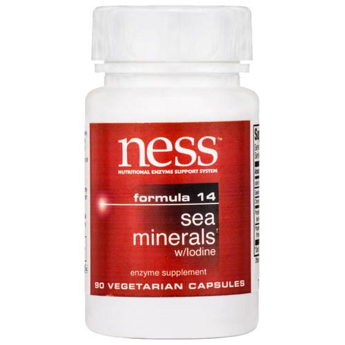 Sea Minerals + Iodine (Formula 14) 90 vcaps