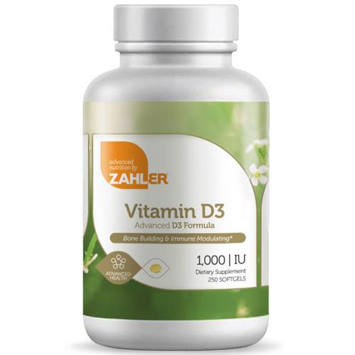 Vitamin D3 1,000 IU 250 softgel