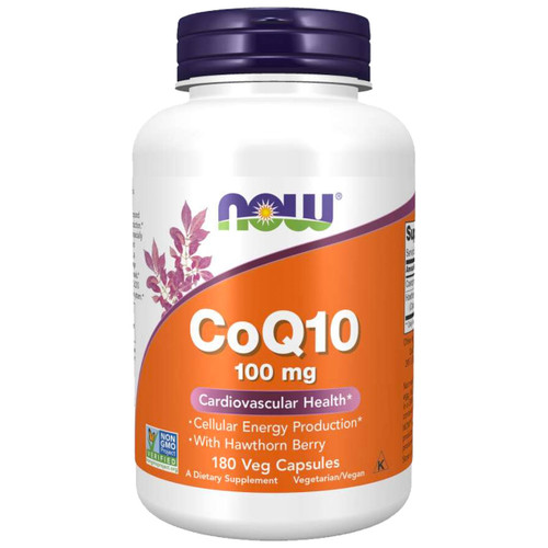 CoQ10 100 mg with Hawthorn Berry