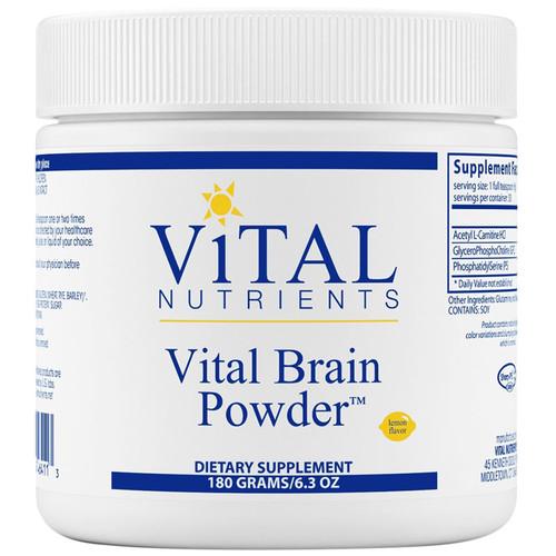 Vital Brain Powder Lemon 180 grams