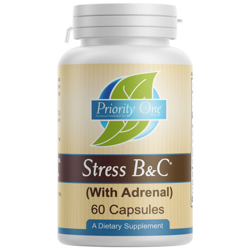Stress B & C (with Adrenal) 60 caps