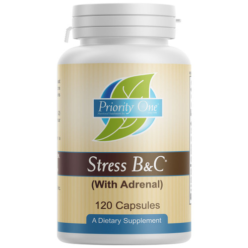 Stress B & C (with Adrenal) 120 caps