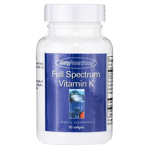 Full Spectrum Vitamin K 90 gels