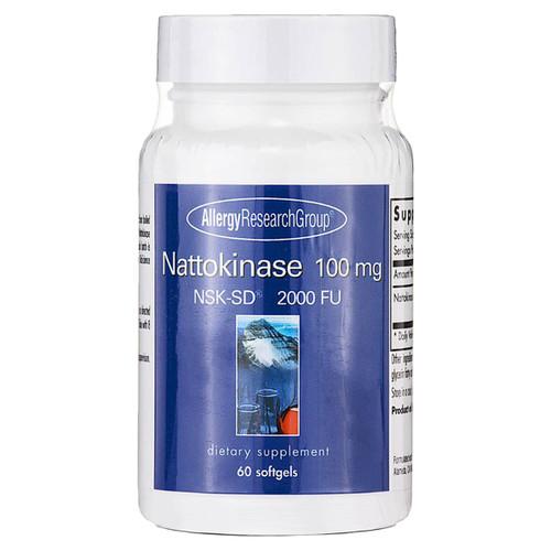 Nattokinase 100 mg 60 softgels