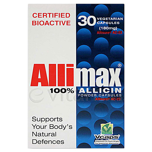 Allimax 180 mg 30 vcaps