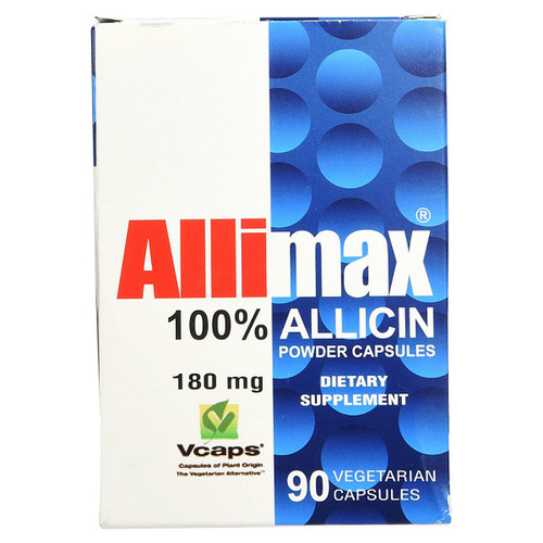 Allimax 180 mg 90 vcaps