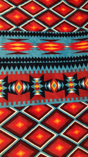 Aztec Cuddle -Red