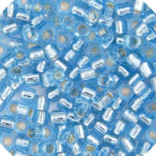 Aqua Silver-Lined