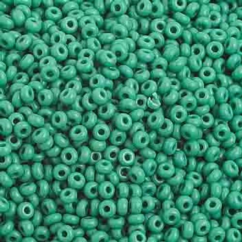 10/0 Opaque Medium Dark Green 22 Gram Vial