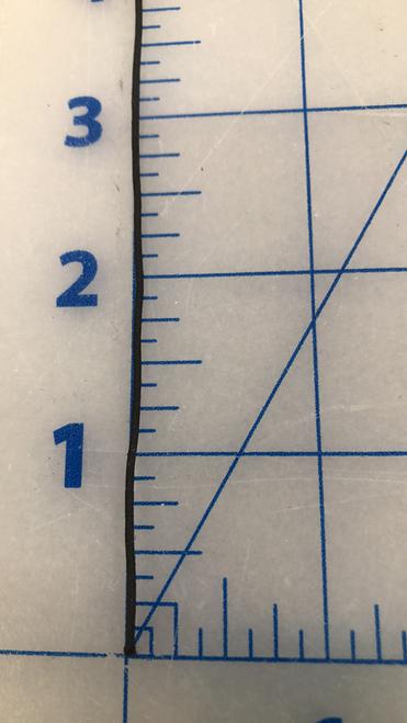 1 mm round elastic