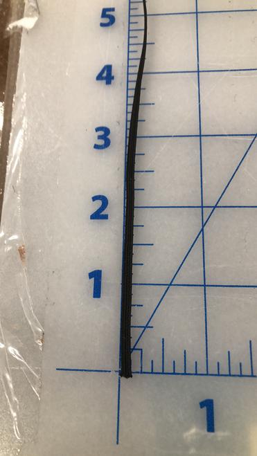 3.2 mm round elastic