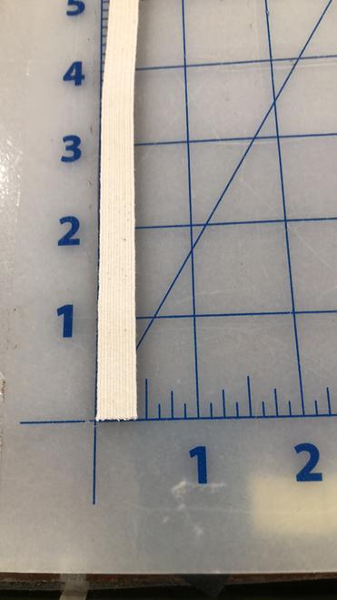 """3/8"""" Chlorine resistant braided elastic"""