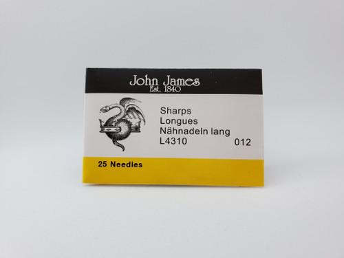 Sharps Needle Size: 012