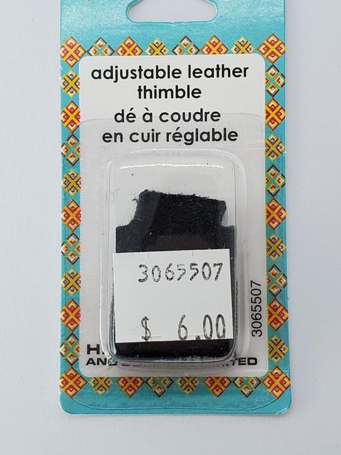 Adjustable Leather Thimble