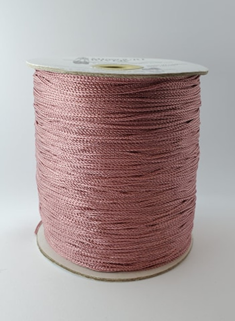 Chain Fringe Spool : Nude Pink