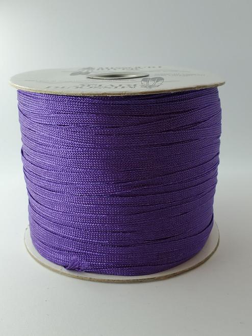Flat Fringe Spool : Purple