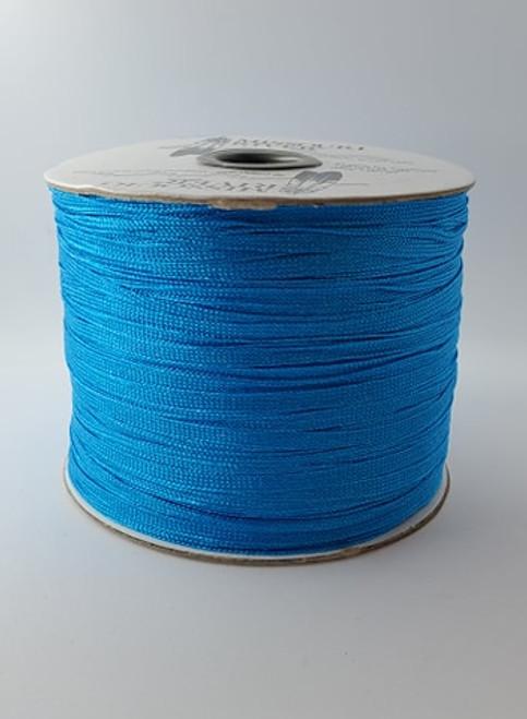 Flat Fringe Spool : Electric Blue