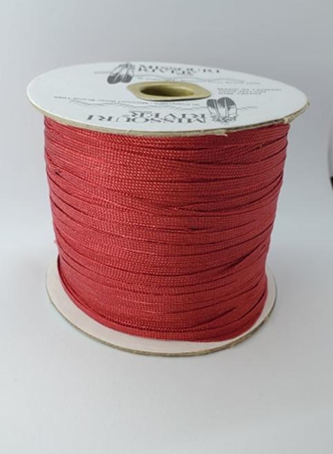 Flat Fringe Spool : Red