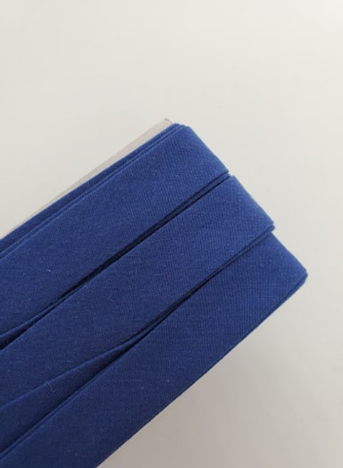 Extra Wide Bias Tape : Royal Blue