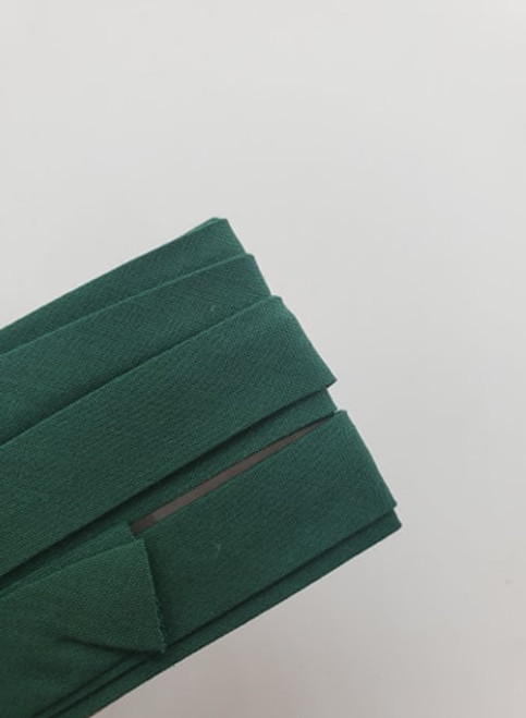 Extra Wide Bias Tape: Green/Teal