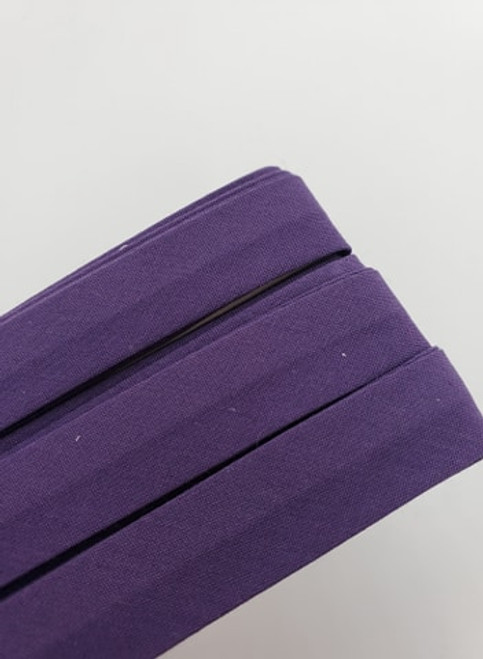 Extra Wide Bias Tape : Dark Purple