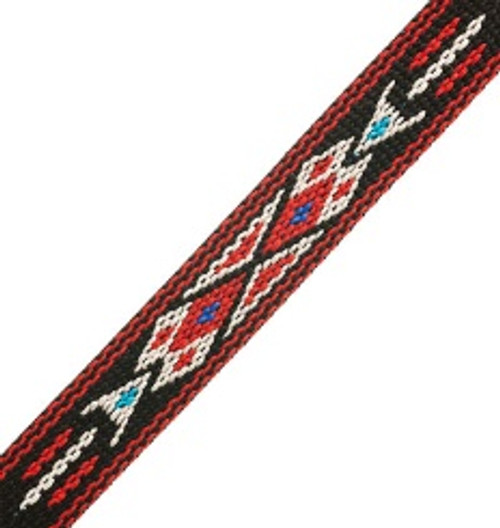 Woven-braided Trim ¾ inch x 5 ft Design 6