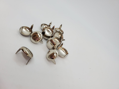 "5/8"" Spots Silver - 40pcs"
