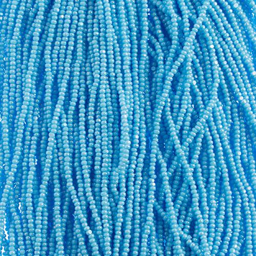 Opaque Light Blue Luster 13/0