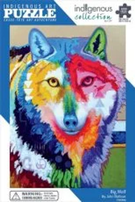 1000 pc Art Puzzle: Big Wolf