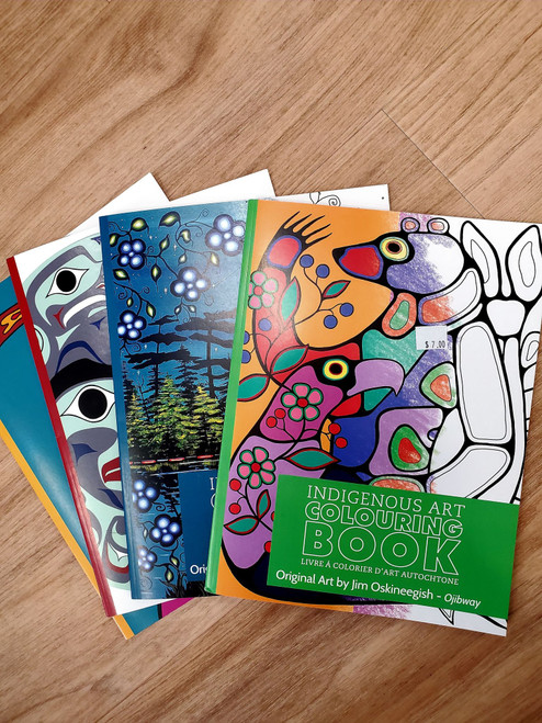 Indigenous Art - Colouring Book