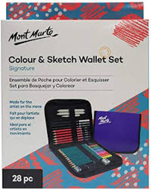 Colour & Sketch Wallet Set