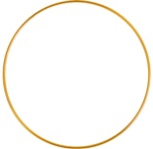 7 inch brass ring