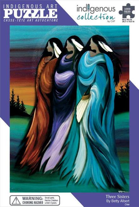 1000 pc Art Puzzle : Three Sisters