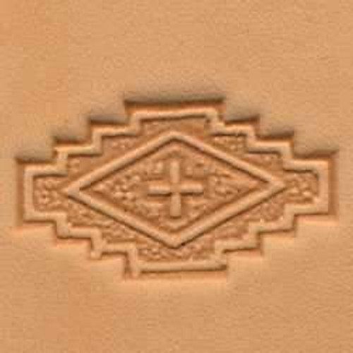 Stepped Square 3D Stamp