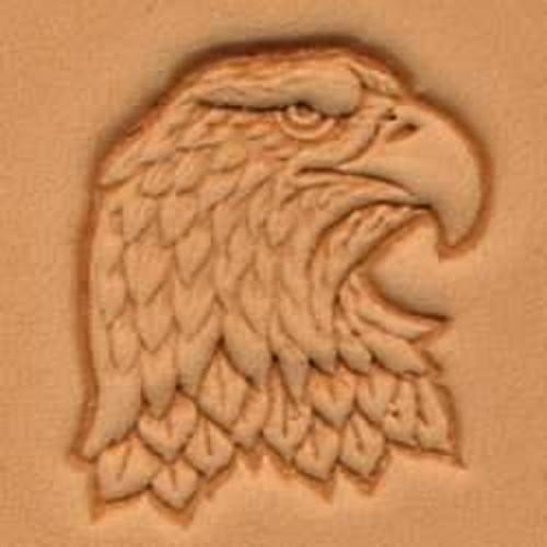 Eagle head 3D Stamp Left
