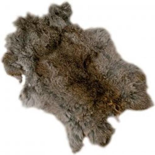 Rabbit pelt  small, natural colour