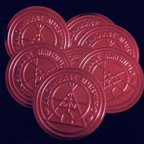 Red Coated Children Embossed Lids are 1-3/4″ in diameter. 100 lids per package