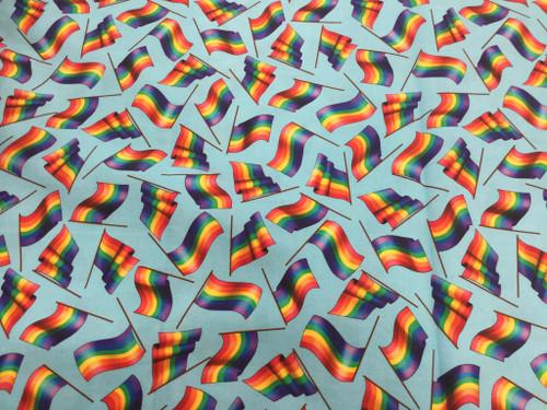 Rainbow Flags Blue